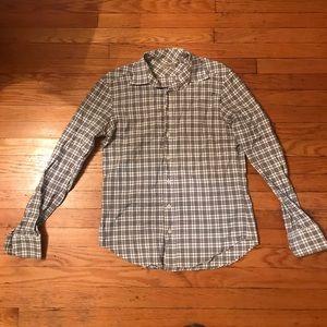 Men's Burberry Check Cotton Shirt